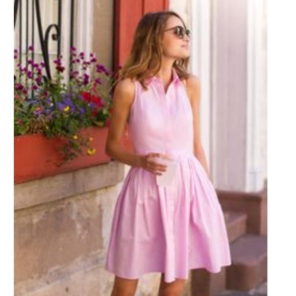 Ann Taylor Dresses & Skirts - Ann Taylor NWT Pink Pleated Shirt dress Sz 0